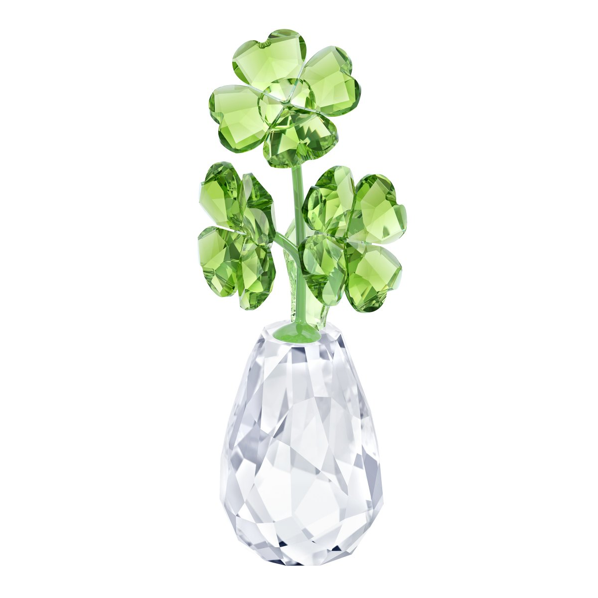 Figúrka SWAROVSKI FLOWER DREAMS - FOUR-LEAF CLOVERS