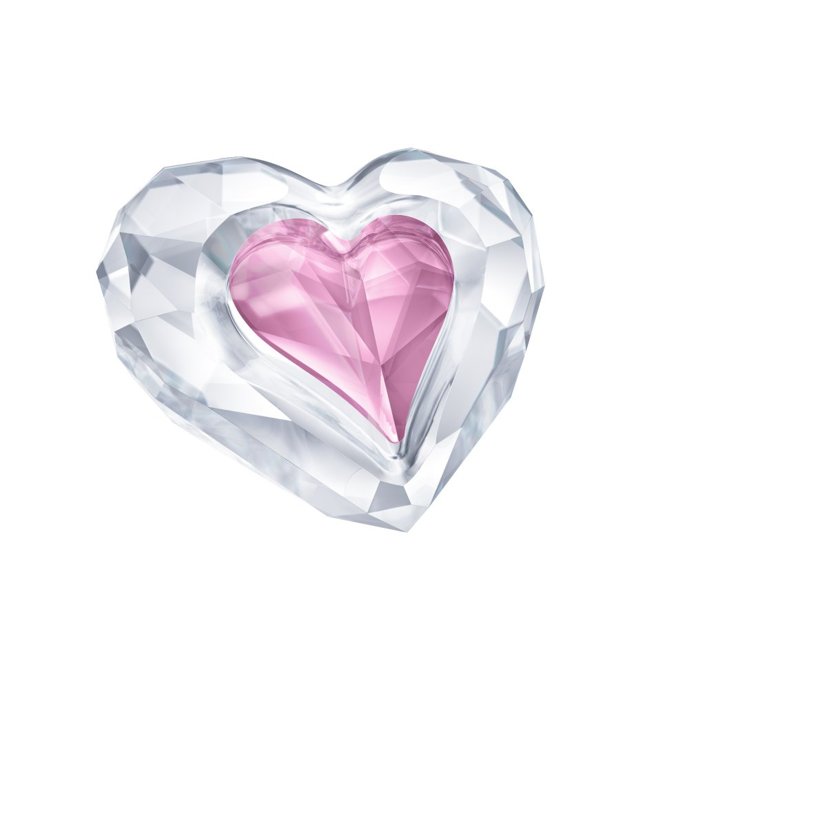 Figúrka SWAROVSKI HEART - ONLY FOR YOU