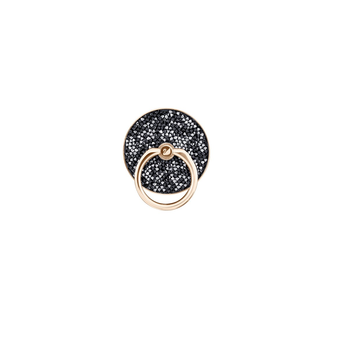 SWAROVSKI GLAM ROCK RING:STICKERS BLK/STS PRO