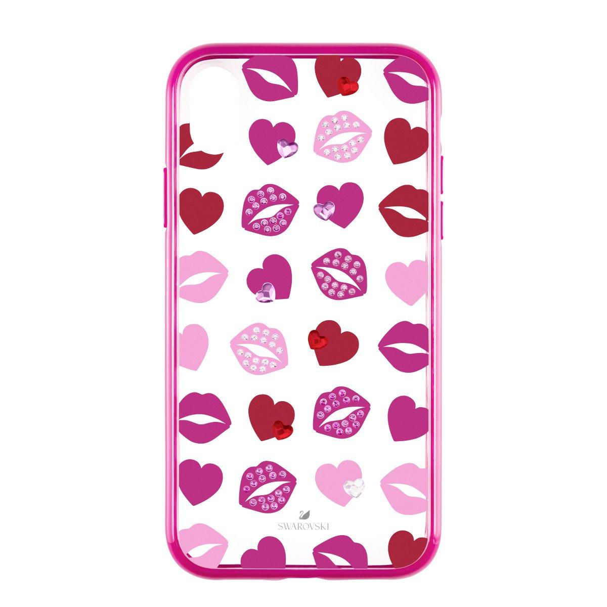 SWAROVSKI kryt na iPhone LOVELY IPXR:CASE PINK