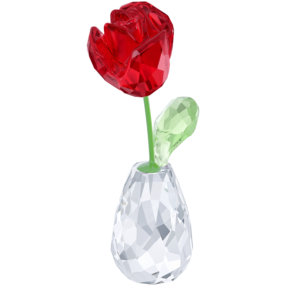 Figúrka SWAROVSKI Flower Dreams - Red Rose
