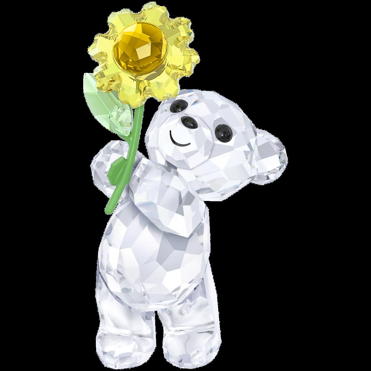 Figúrka SWAROVSKI Kris Bear - A Sunflower For You