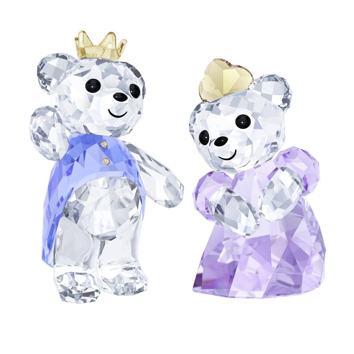 Figúrka SWAROVSKI Kris Bear - Prince & Princess