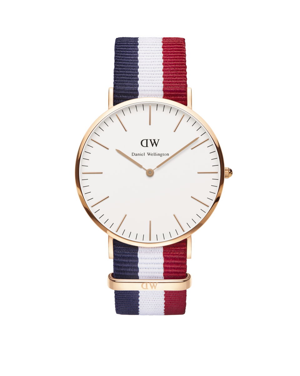 Hodinky DANIEL WELLINGTON Classic Cambridge Rose Gold 40mm