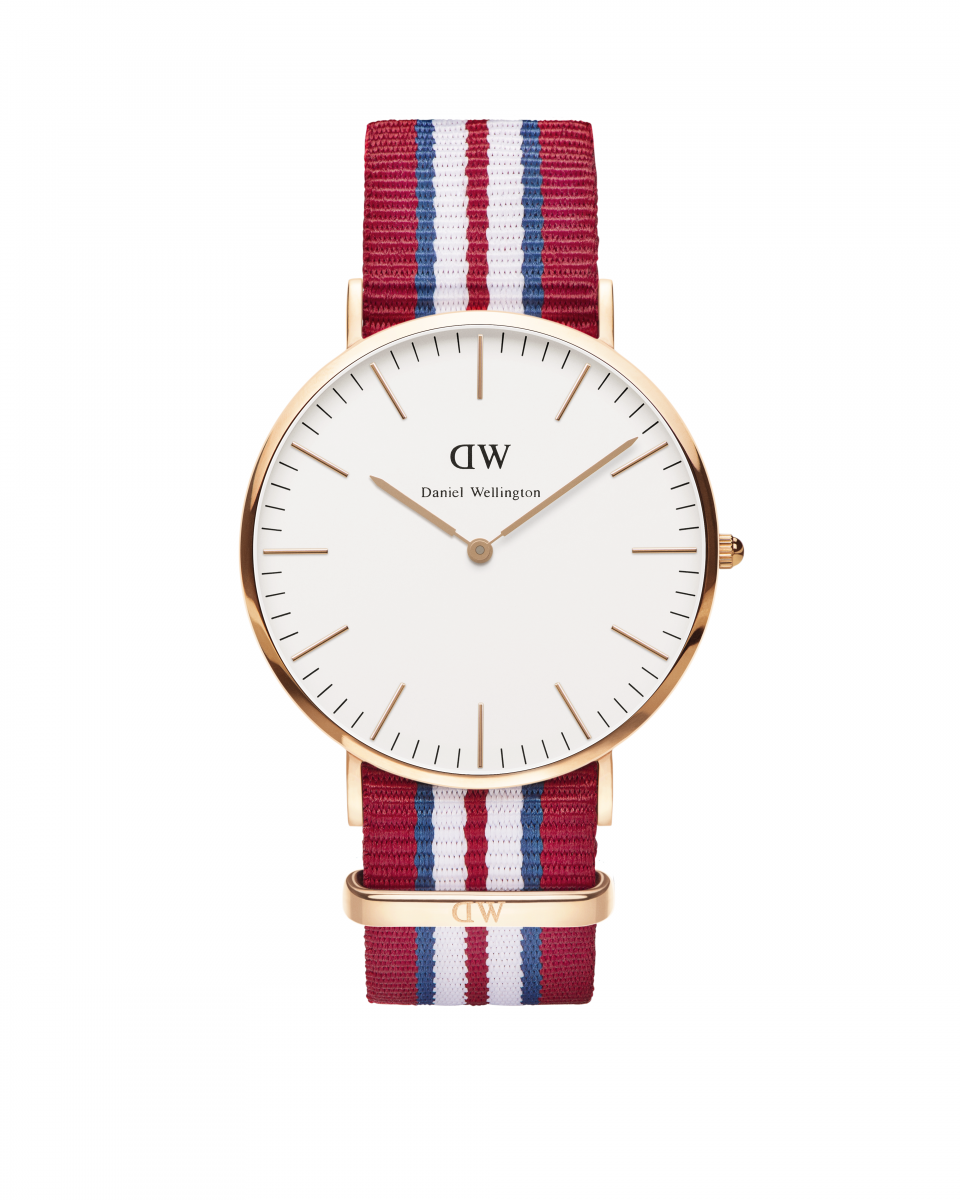 Hodinky DANIEL WELLINGTON Classic Exeter Rose Gold 40mm