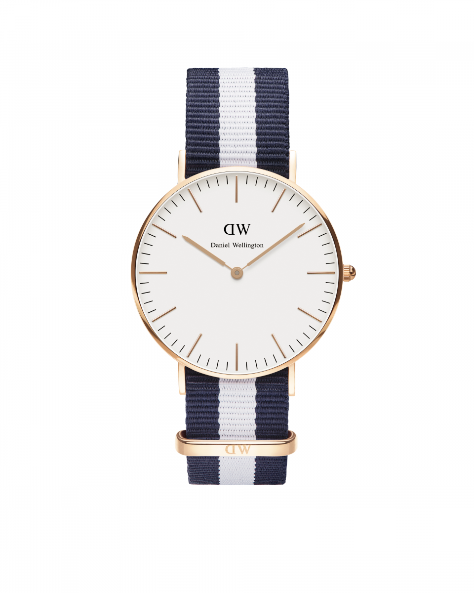 Hodinky DANIEL WELLINGTON Classic Glasgow Rose Gold 36mm