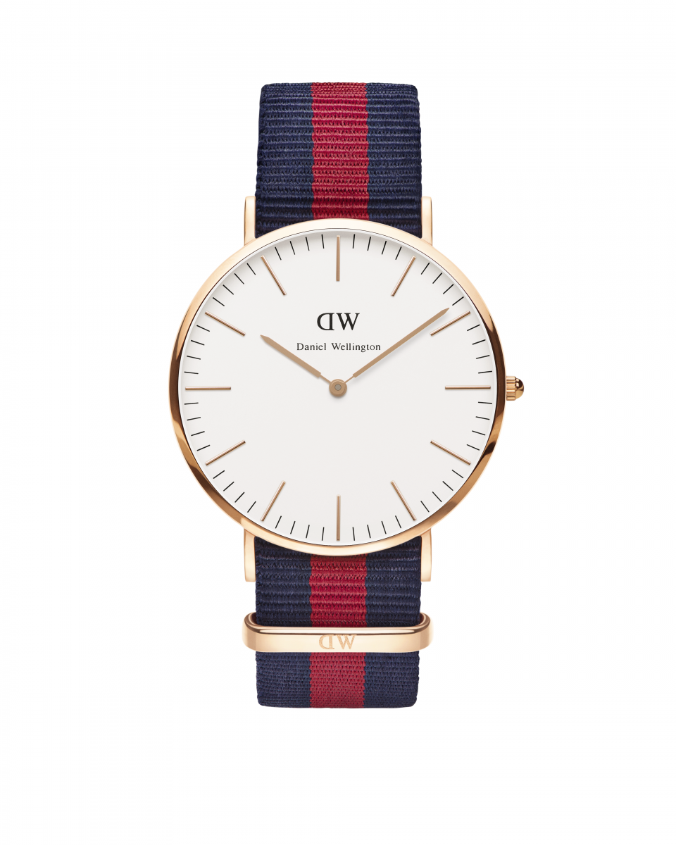 Hodinky DANIEL WELLINGTON Classic Oxford Rose Gold 40mm