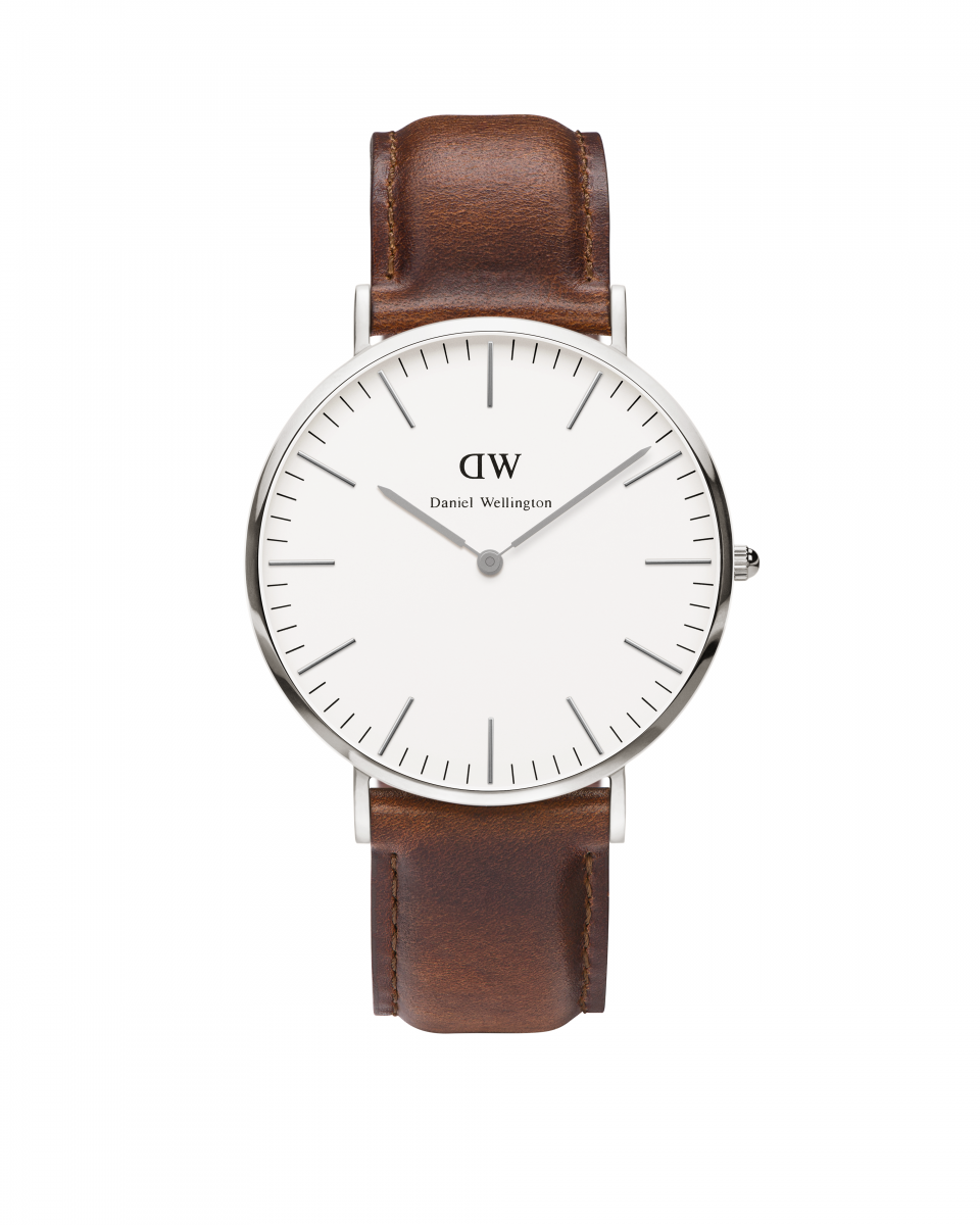 Hodinky DANIEL WELLINGTON Classic St Andrews Silver 40mm