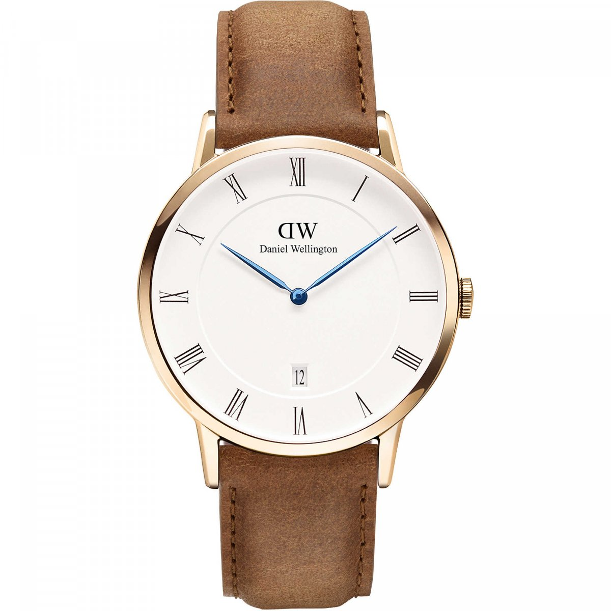 Hodinky DANIEL WELLINGTON Dapper Durham Rose Gold 38mm