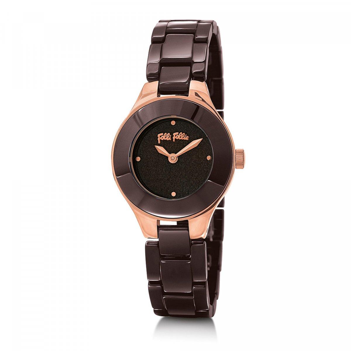 Hodinky FOLLI FOLLIE Miss FF Small Case Ceramic Bracelet Watch