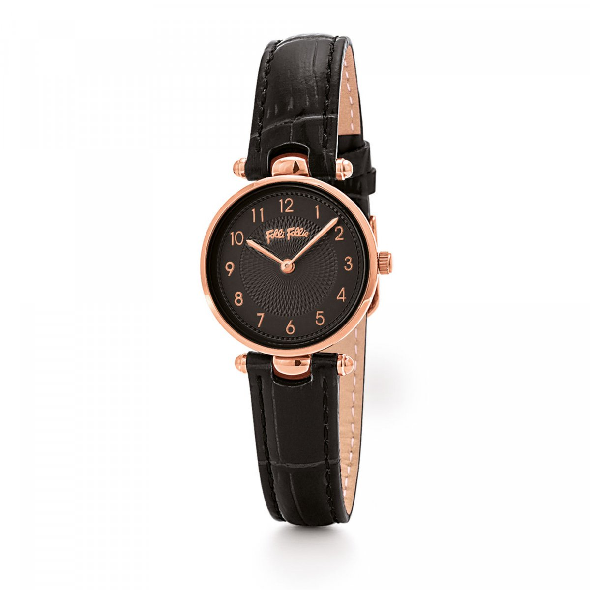 Hodinky FOLLI FOLLIE Lady Club Small Case Leather Watch