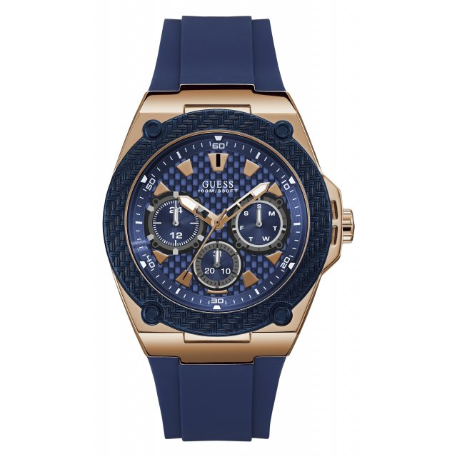 W1049G2 Panske hodinky GUESS v modorom prevedeni c597bbc7196