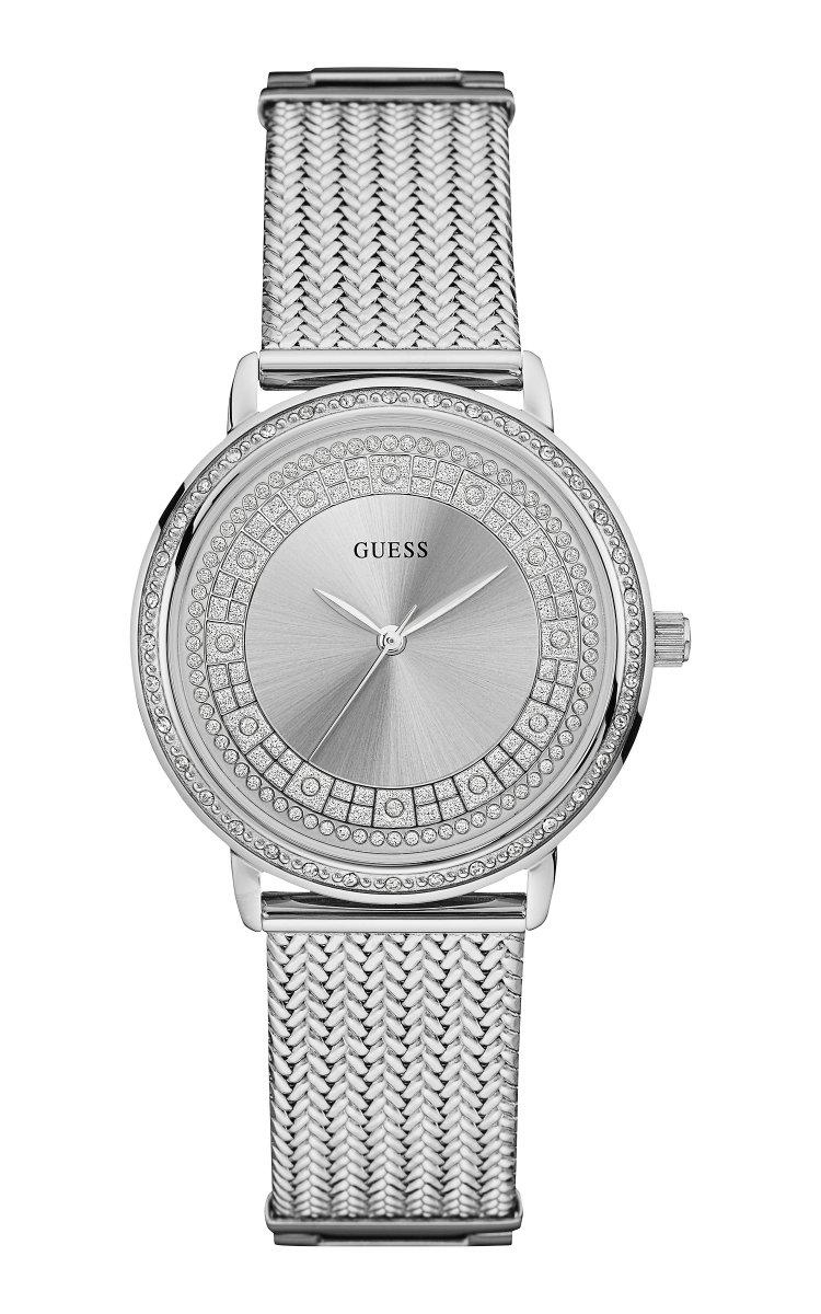 58f580895 Strieborné hodinky GUESS W0836L2 | MOLOKO