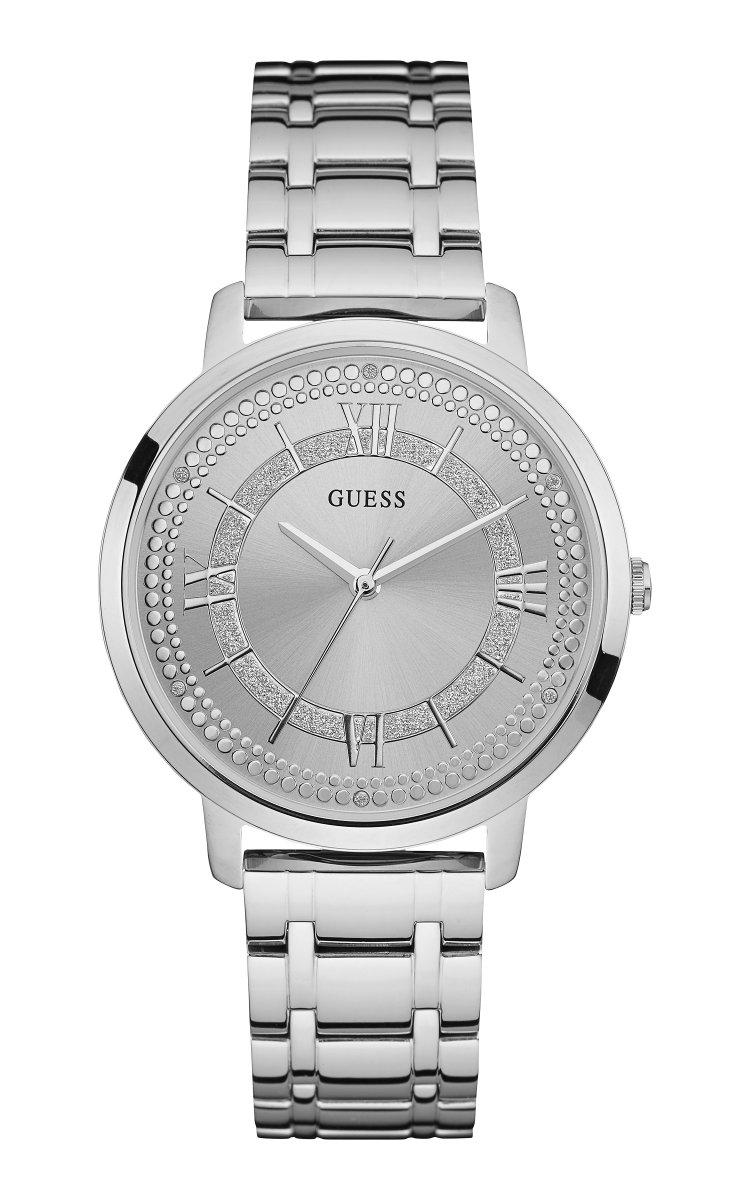 af819dc78 Strieborné hodinky GUESS W0933L1 | MOLOKO