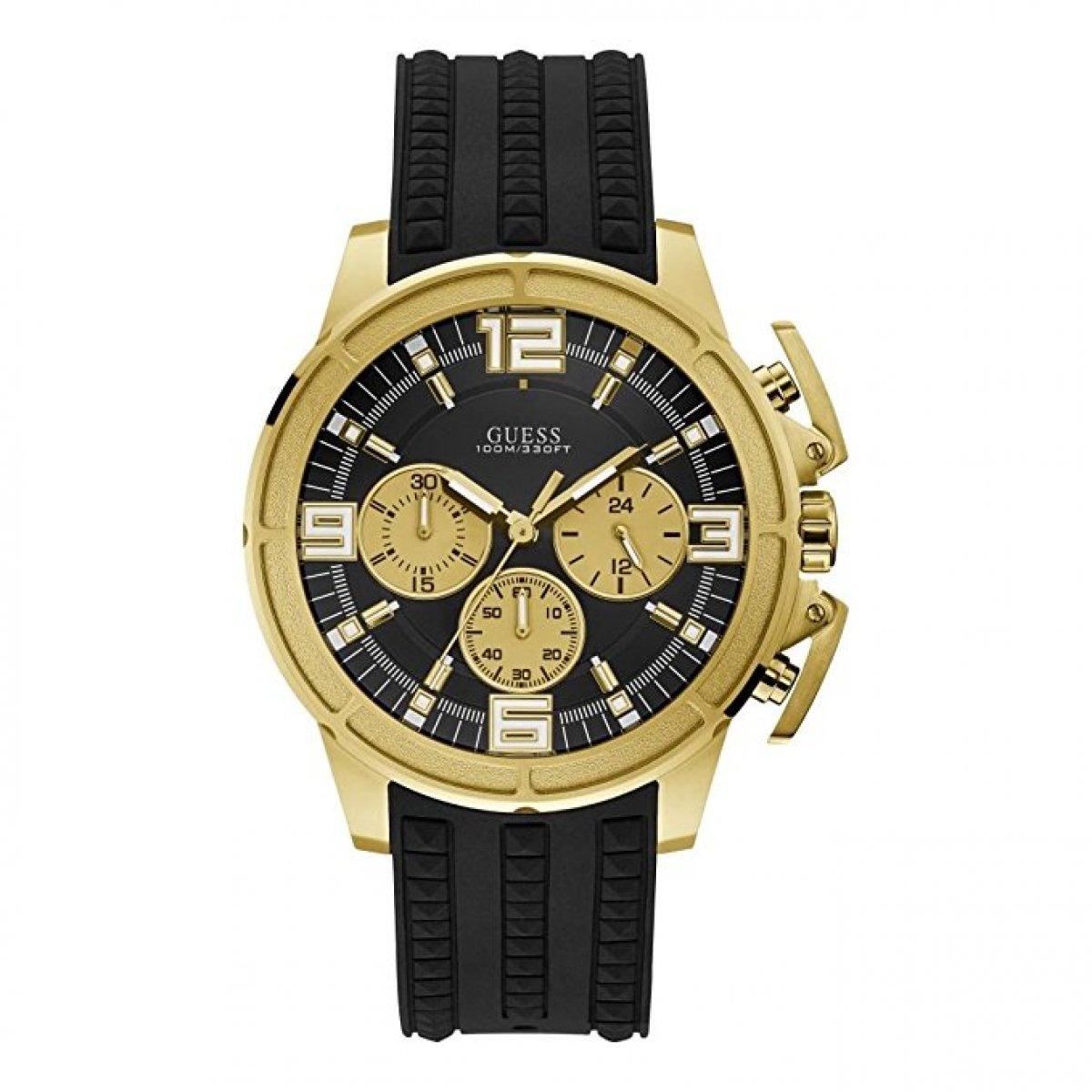 Pánske hodinky GUESS so silikónovým remienkom W1115G1  2d8d85e1f4d