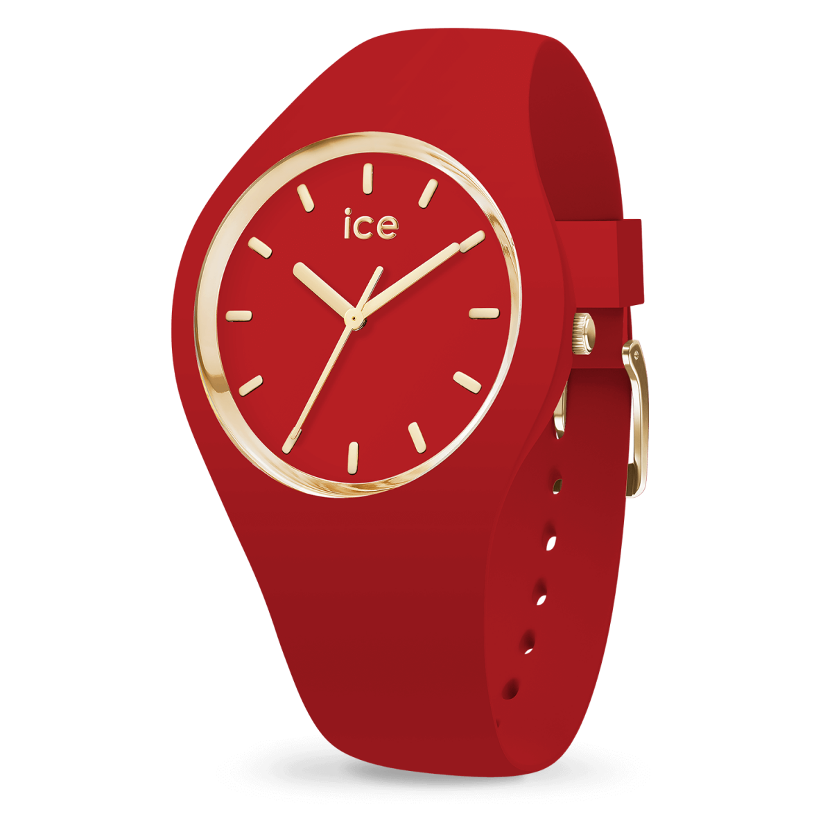 Hodinky ICE WATCH ICE GLAM RED MEDIUM