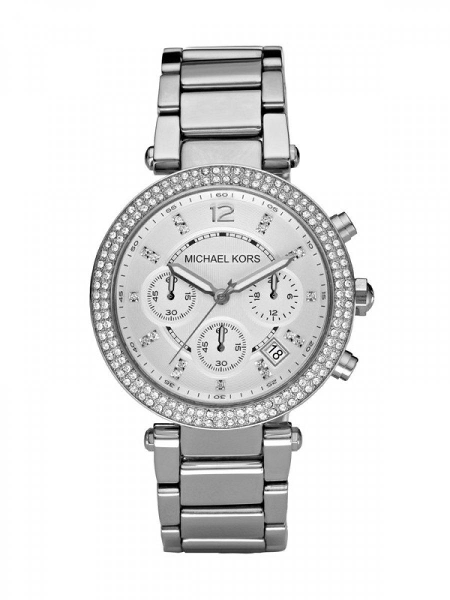 Galéria Strieborné hodinky MICHAEL KORS so zirkónmi× 2d7e23e8921