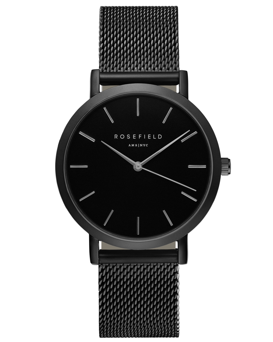 Hodinky ROSEFIELD The Mercer Black Black