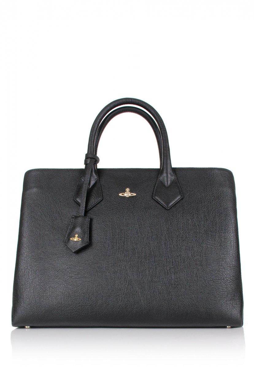 Kabelka do ruky VIVIENNE WESTWOOD Shopper Balmoral Black
