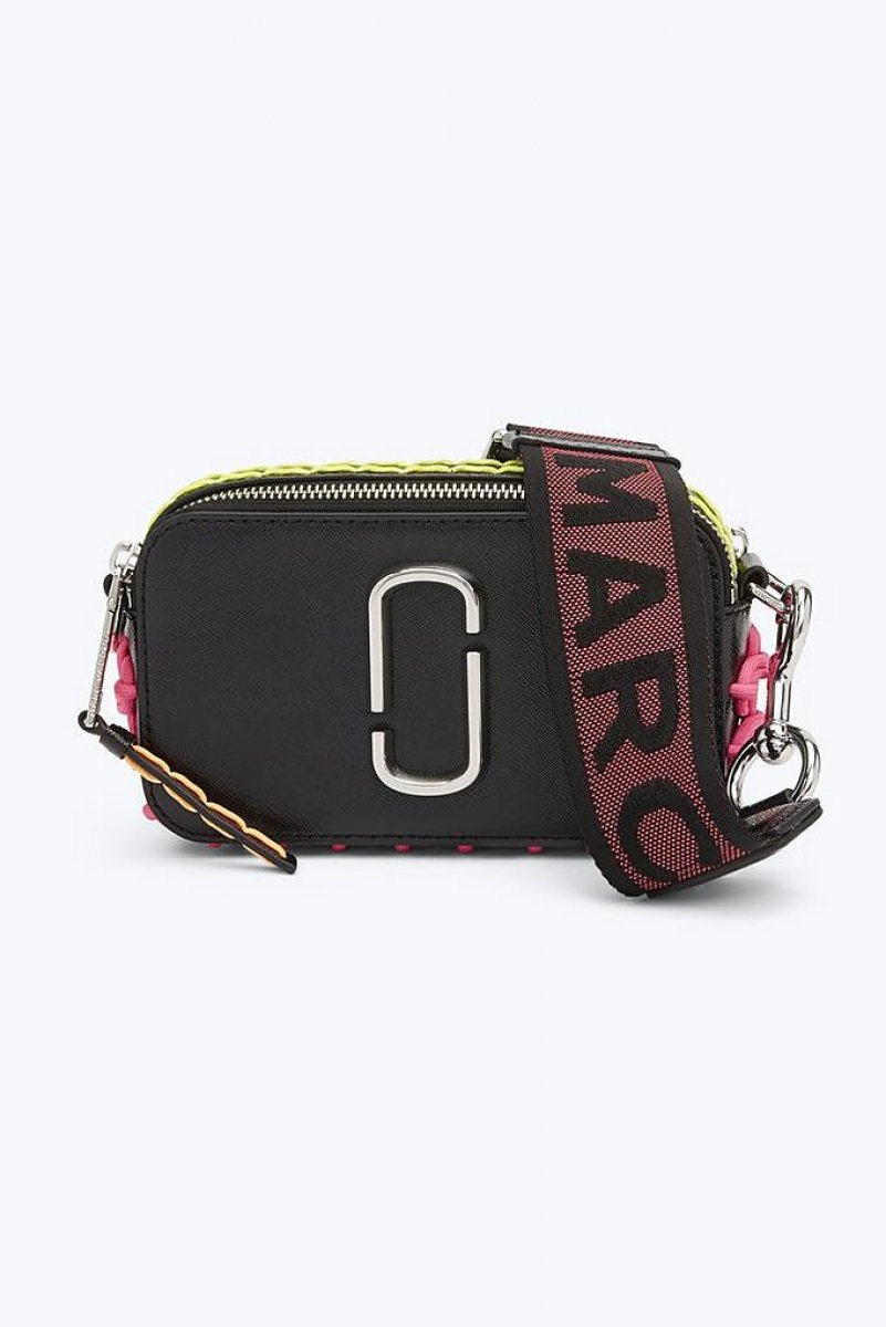 Crossbody kabelka MARC JACOBS SNAPSHOT WHIPSTITCHES M0014504 001 ... 5729f150857