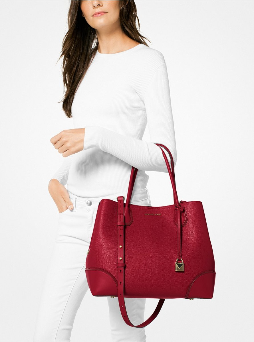 Galéria Kabelka na rameno MICHAEL KORS MERCER GALLERY LG CENTER ZIP TOTE×.  30H7GZ5T7A 550 30H7GZ5T7A 550 . 828aabe8dca