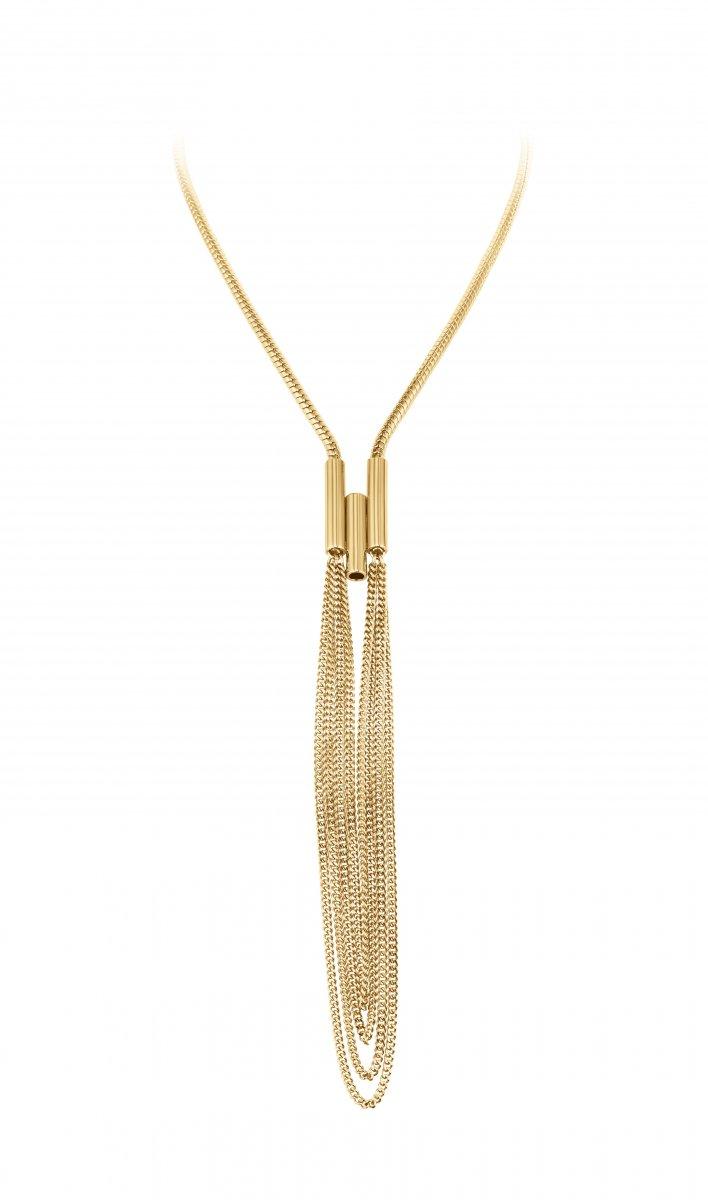 Náhrdelník DYRBERG/KERN SABINE SHINY GOLD