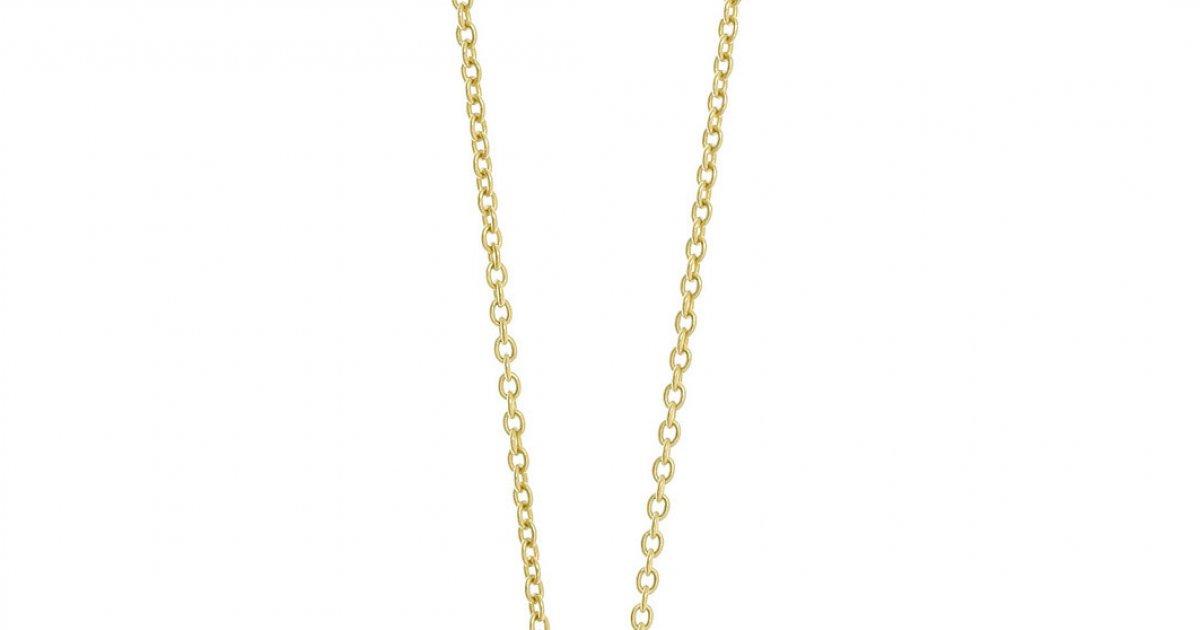 d12054f50 Zlatý náhrdelník GREGIO s príveskom v tvare štvorlístka 40529G | MOLOKO