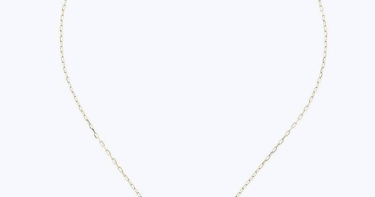 0215a16c0 Zlato-červený náhrdelník MARC JACOBS s okrúhlym príveskom M0008546-628 |  MOLOKO