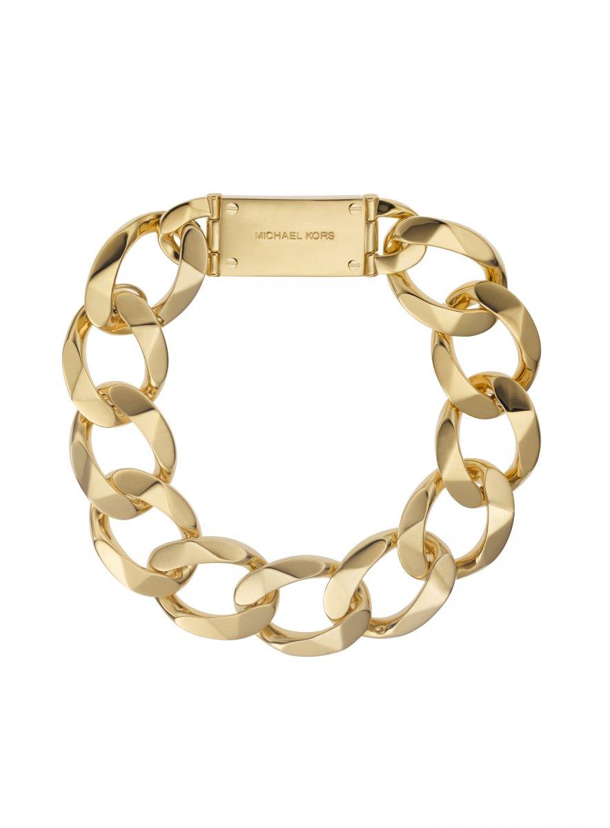 Zlatý náhrdelník MICHAEL KORS