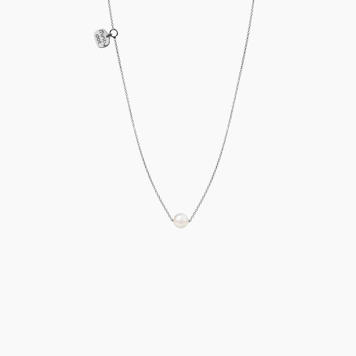 Náhrdelník MINTY DOT Silver My Precious Pearl