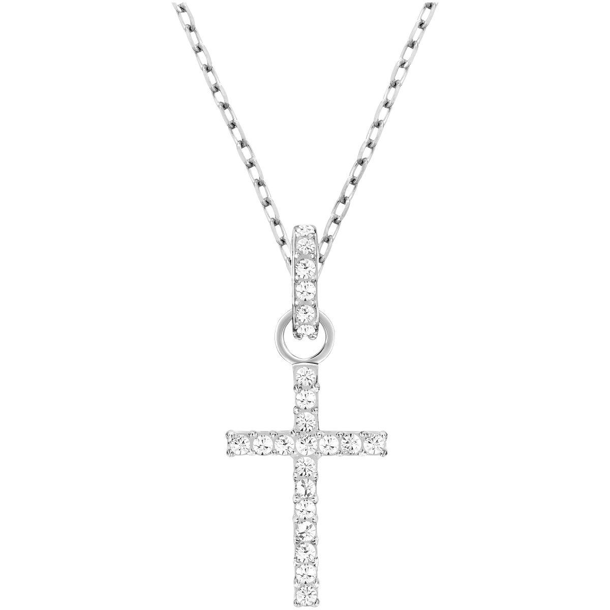 Náhrdelník SWAROVSKI s krížom