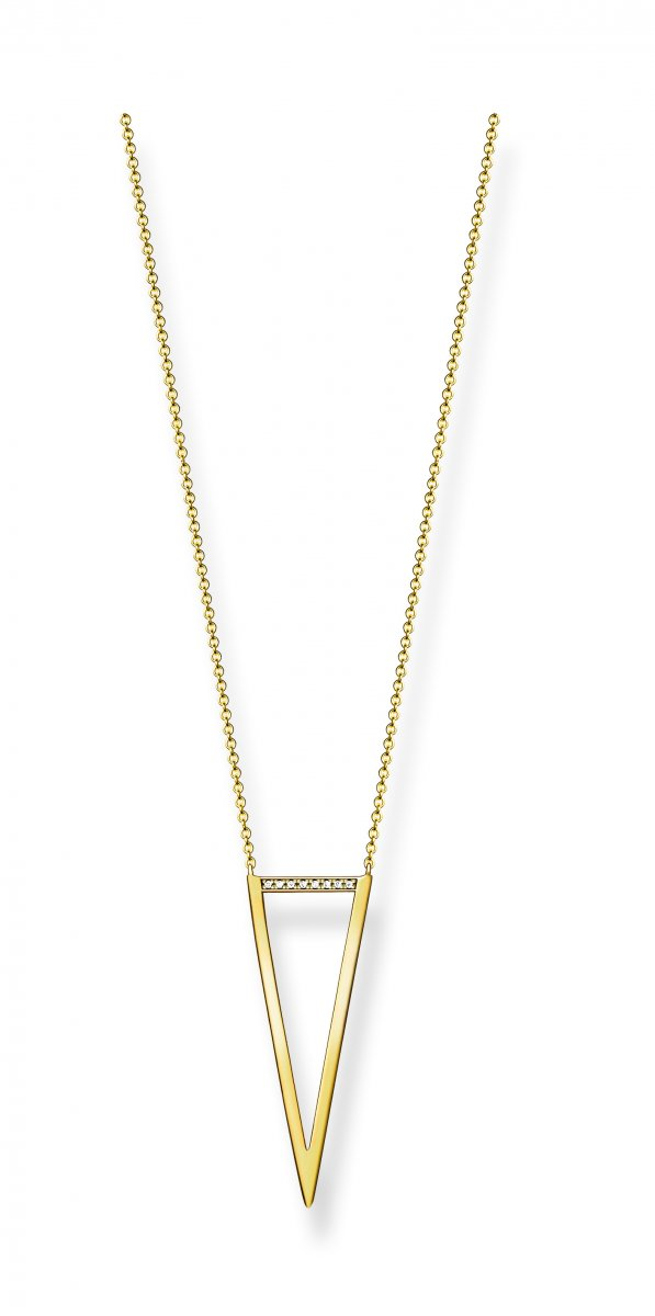 Zlatý náhrdelník THOMAS SABO s diamantmi