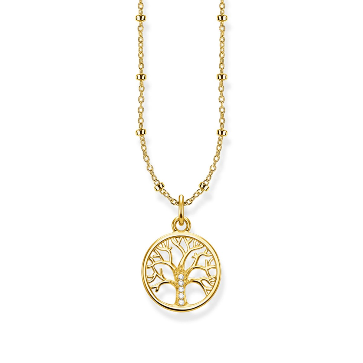 Náhrdelník THOMAS SABO TREE OF LOVE GOLD