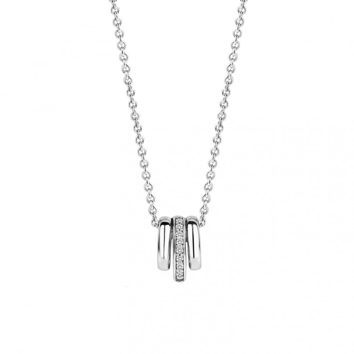 Strieborný náhrdelník TI SENTO s príveskom