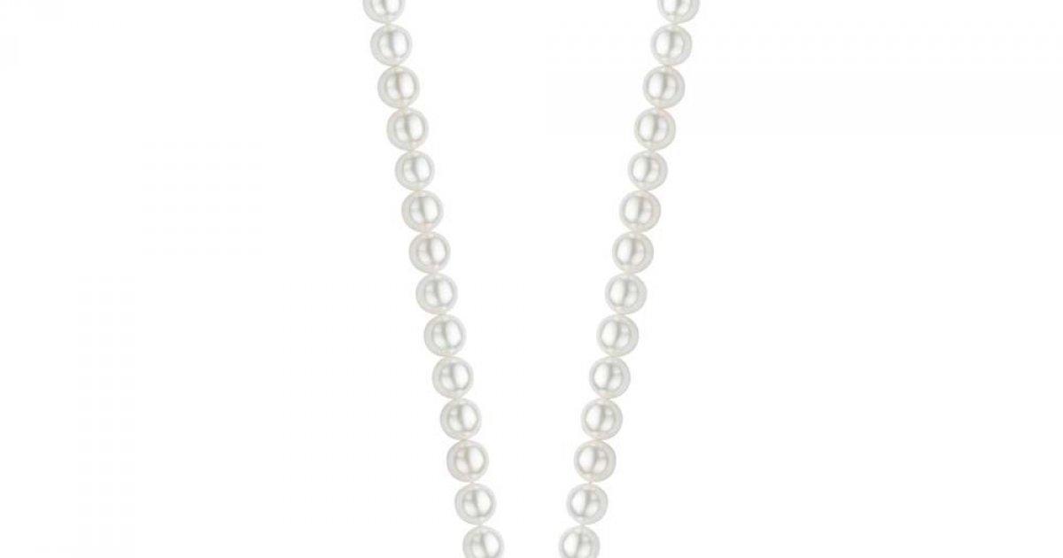 3f508c3a4 Perličkový náhrdelník TI SENTO 6mm 3752PW   MOLOKO