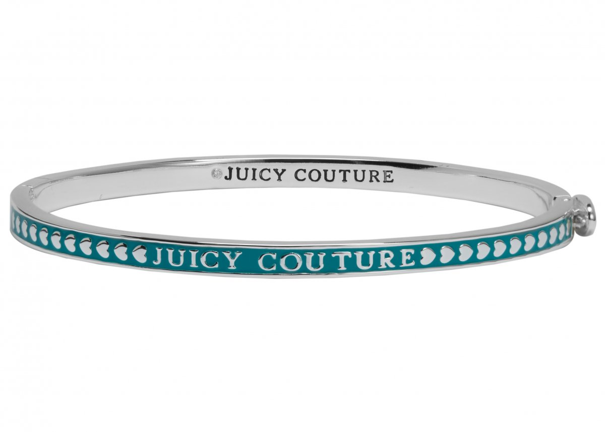 Náramok JUICY COUTURE v strieborno-modrom prevedení