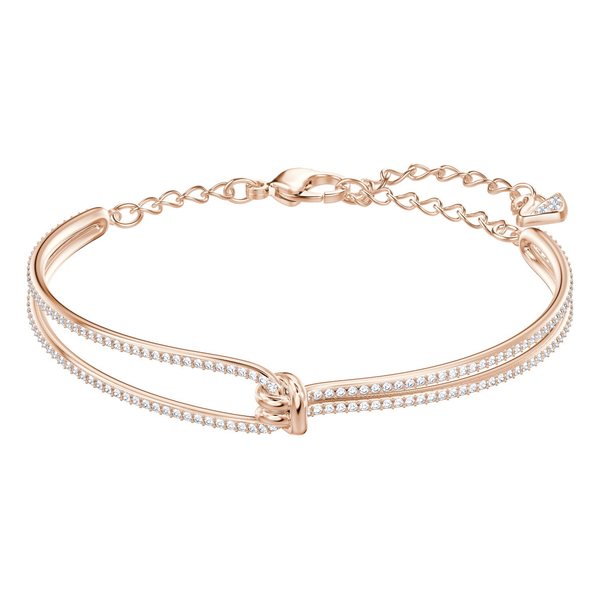 Náramok SWAROVSKI LIFELONG BANGLE CRY/ROS M