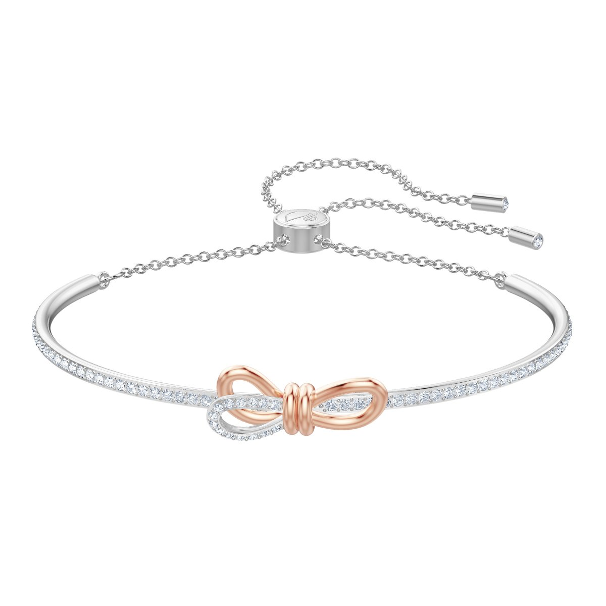 Náramok SWAROVSKI LIFELONG BOW:BANGLE CRY/MIX M