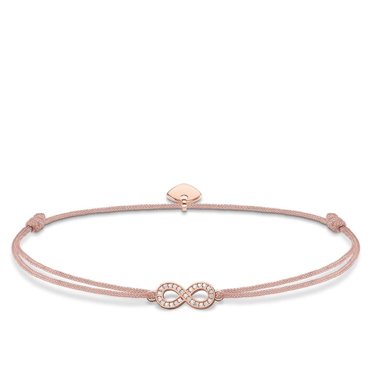 Béžovo-ružový náramok THOMAS SABO so symbolom nekonečna