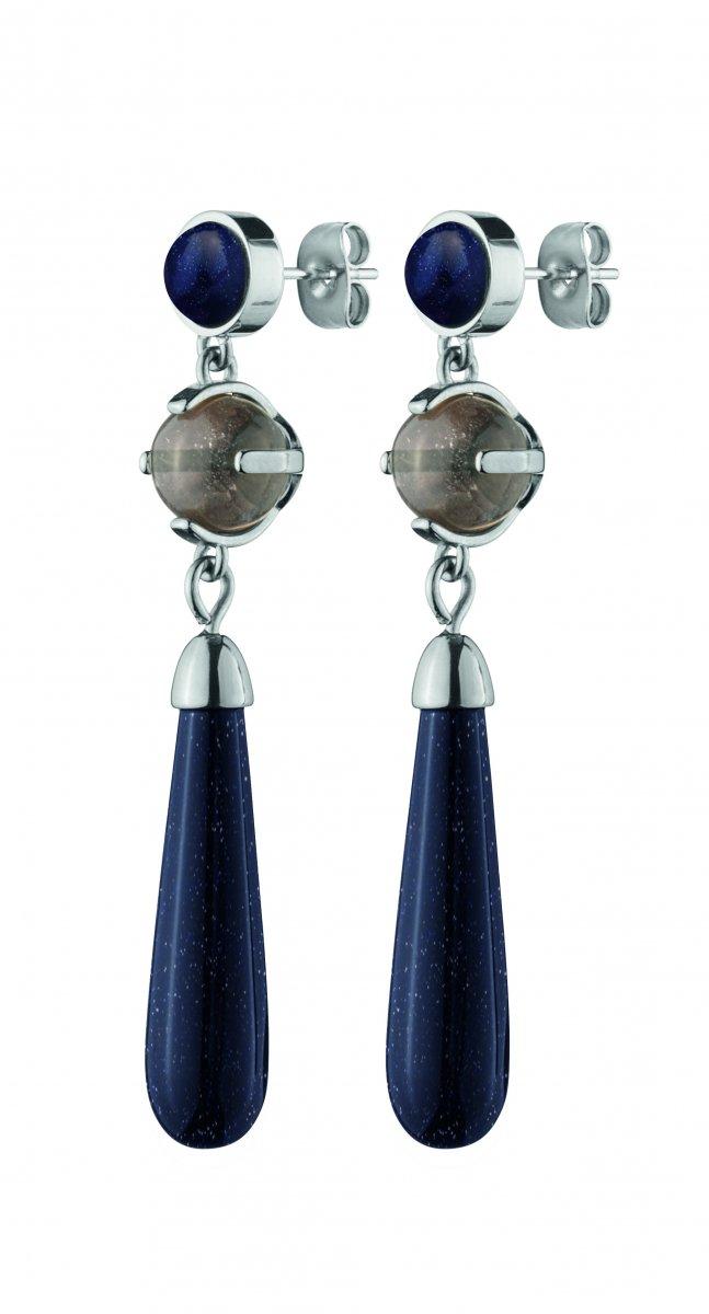 Náušnice DYRBERG/KERN COX SS BLUE