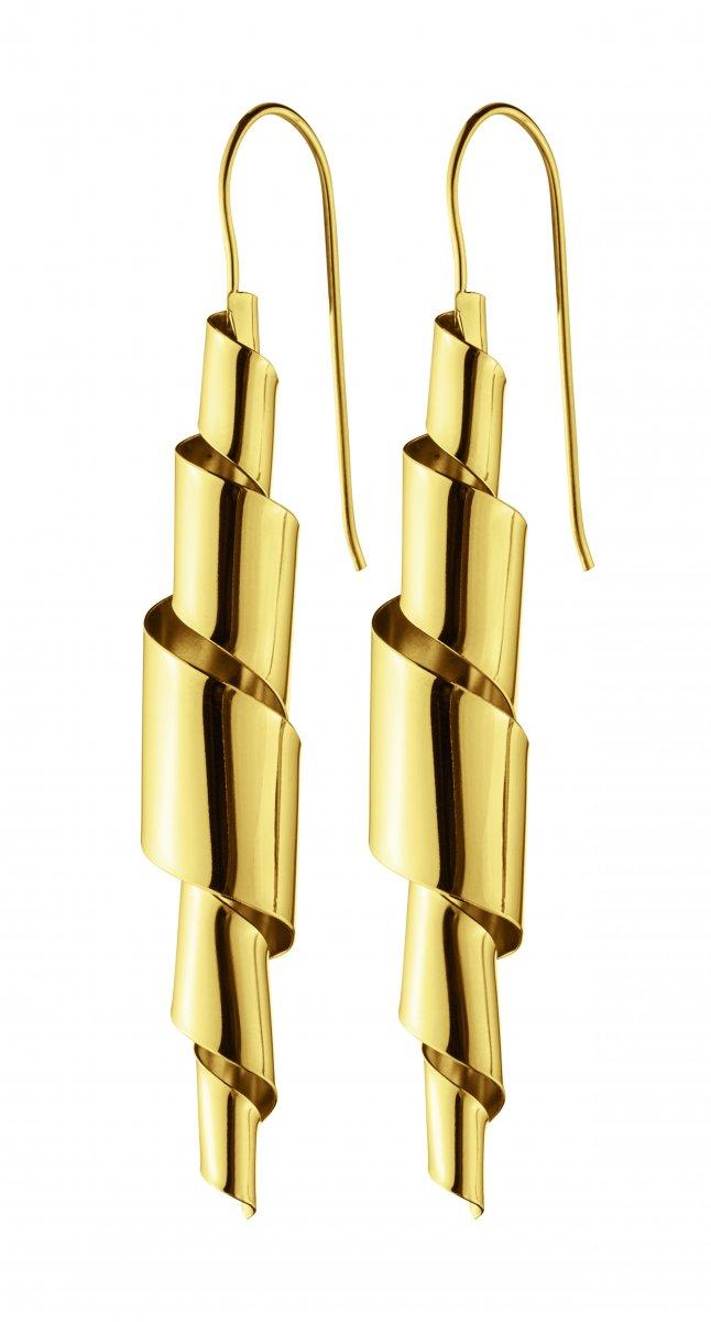 Náušnice DYRBERG/KERN PIPER SHINY GOLD