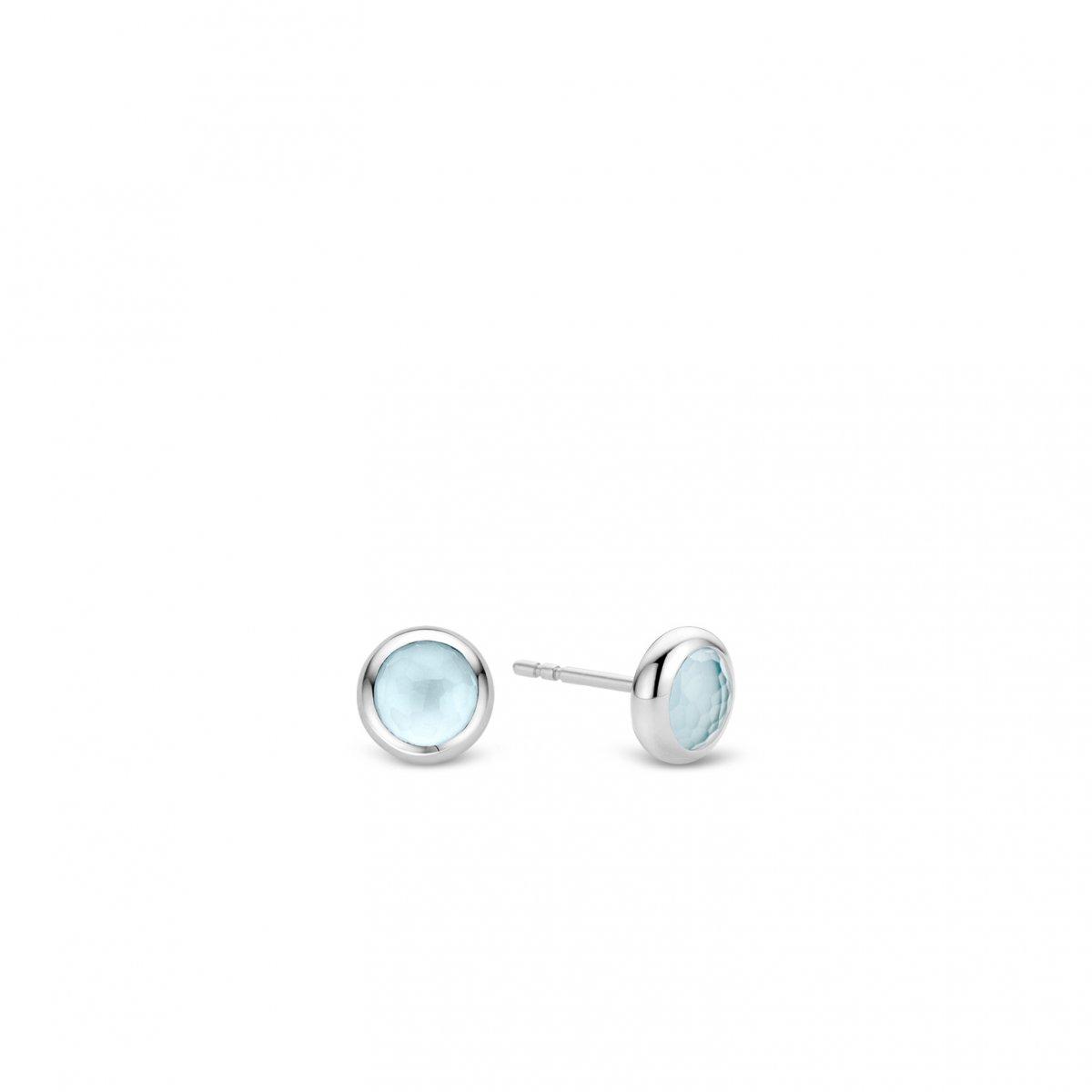 e271773c6 Náušnice TI SENTO s modrým kameňom 7748WL | MOLOKO