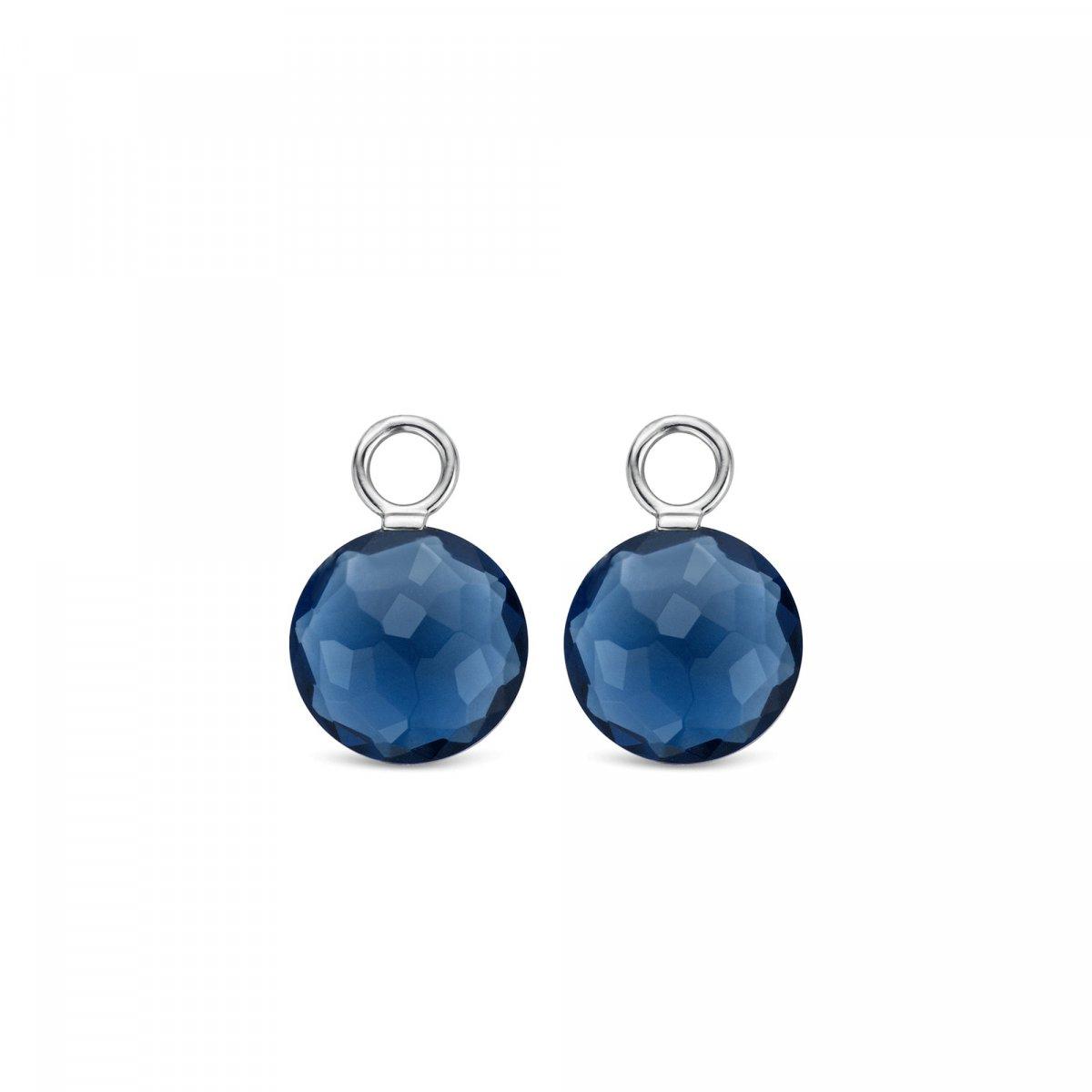 592ed41a0 Prívesky na náušnice TI SENTO s modrým krištáľom 9187DB | MOLOKO