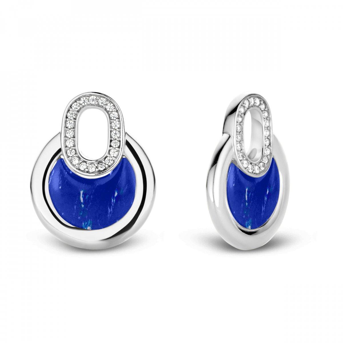 17df32b57 Prívesky na náušnice TI SENTO s modrými kameňmi 9206BL | MOLOKO