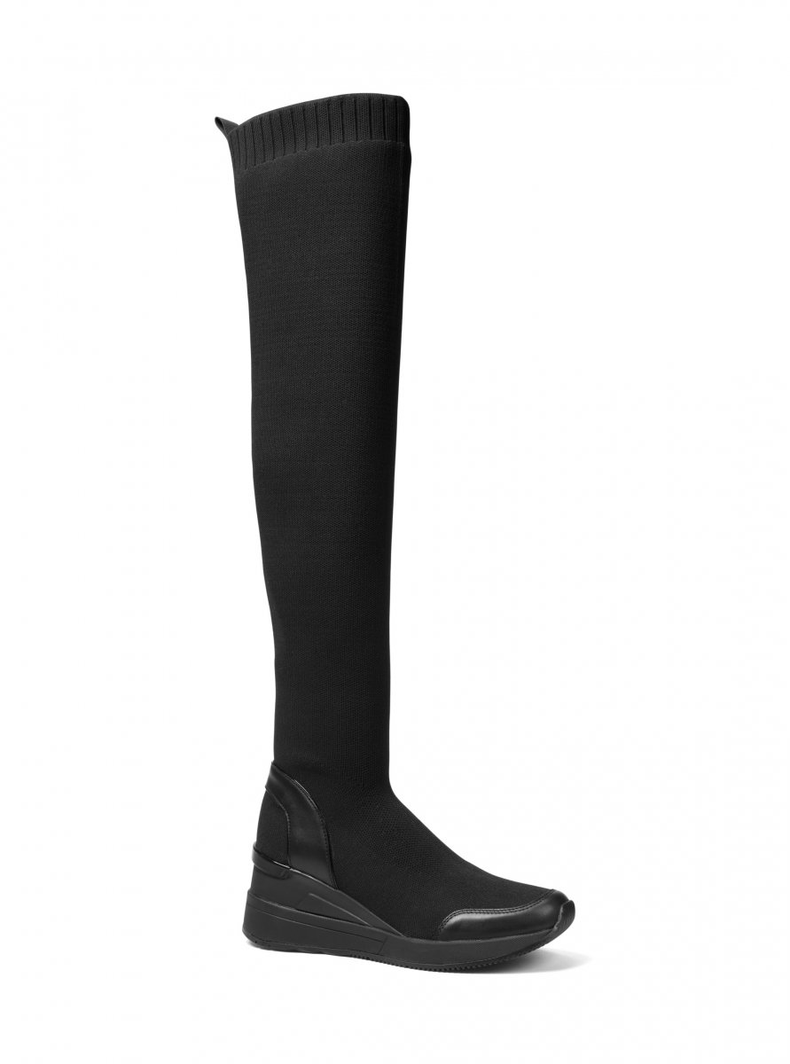 Čižmy MICHAEL KORS GROVER KNIT BOOT