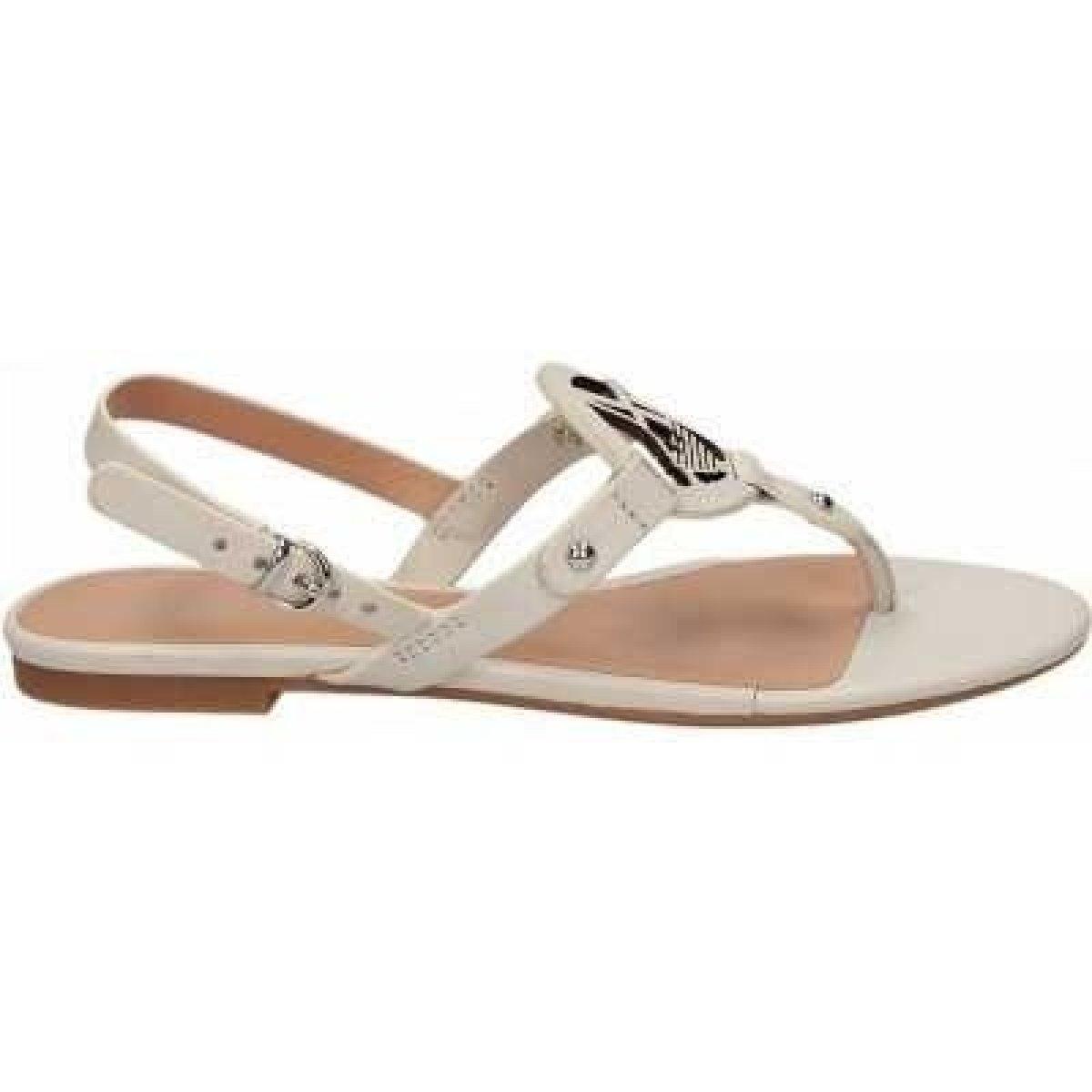 e3e781729fcd Sandále ARMANI JEANS A555237 WHITE