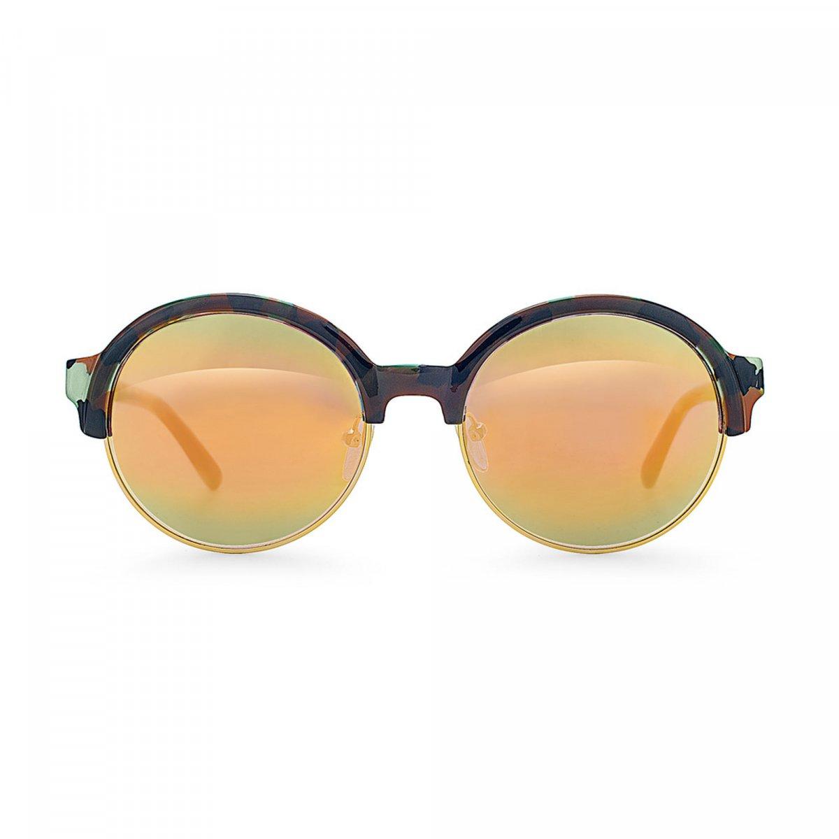 Okuliare FOLLI FOLLIE s čierno-zeleným rámom