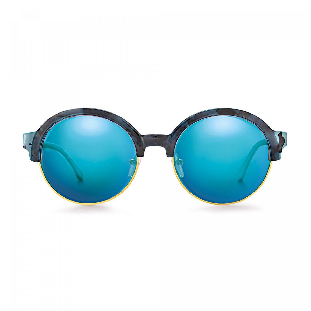 Okuliare FOLLI FOLLIE s modrým rámom