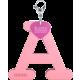 Privesok I LOVE KUKU A Baby Pink