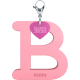 Privesok I LOVE KUKU B Baby Pink